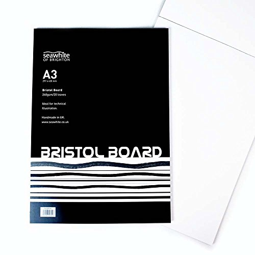 Cartulina (240g/m², 20hojas, A3, ideal para técnica ilustración
