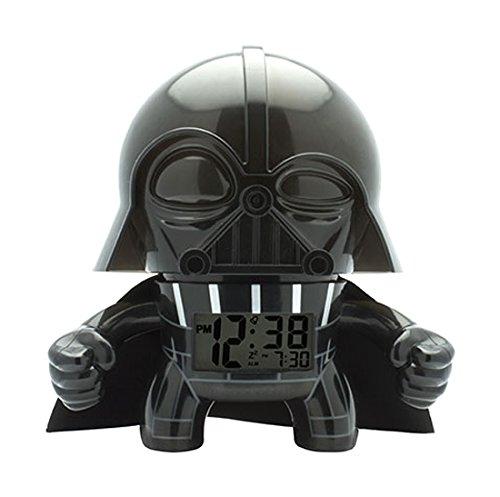 Kanaï Kids–kkc008–Wanduhr Wecker–Darth Vader Star Wars–19cm–Mehrfarbig
