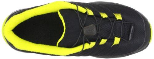 Salomon Synapse J Black Black Mimosa Yellow Schwarz