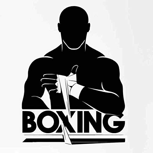 Boxhandschuh Aufkleber Kick Boxer Spiel Auto Aufkleber Free Combat Poster Vinyl Stürmer Wandtattoos Dekor 40x54CM - Elsa-boxer