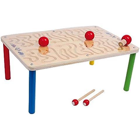 Small Foot Design 3355 - Mesa de juegos infantil con recorrido magnético