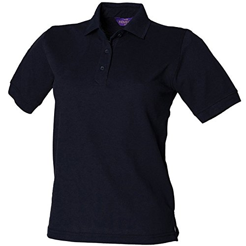 Henbury Damen Modern Poloshirt Navy