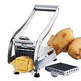 BestKept Kitchen Tools Küche Organizer–Gemüsehobel, Edelstahl 2Klingen French Fry Cutter Kartoffel Gemüsehobel Chopper Dicer–Perfekt Frites–Best -