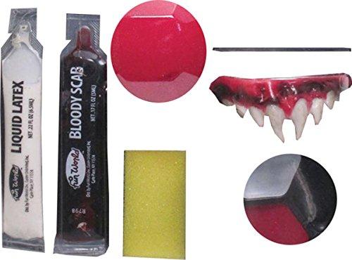 Kostüm Gruselig Gesicht Make-up Halloween Horror Circus Party Killer Clown Make Up Kit