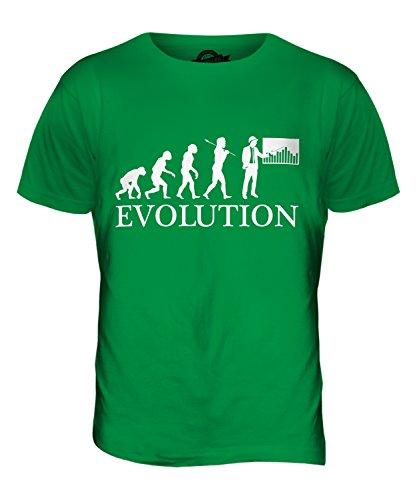 CandyMix Baumanagement Bauleiter Evolution Des Menschen Herren T Shirt Grün