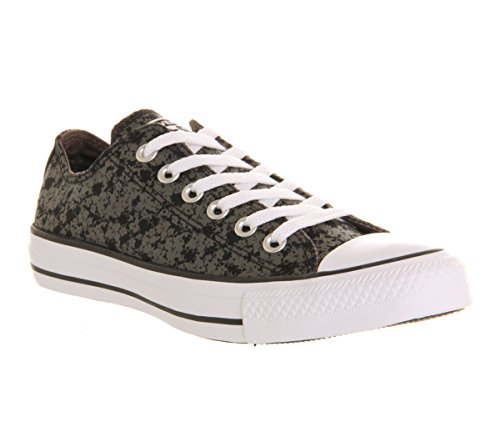 CONVERSE Designer Chucks Schuhe - ALL STAR - Schwarz (Black Charcoal Floral Exclusive)