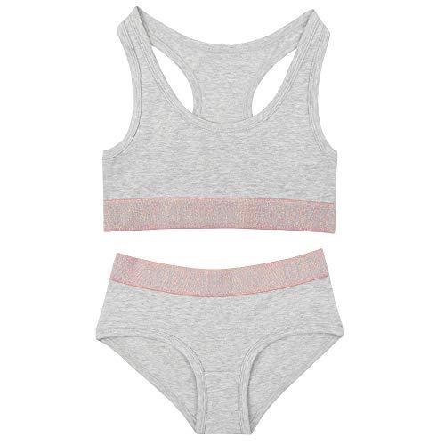 The Pyjama Party - Conjunto - niña Grey with Pink