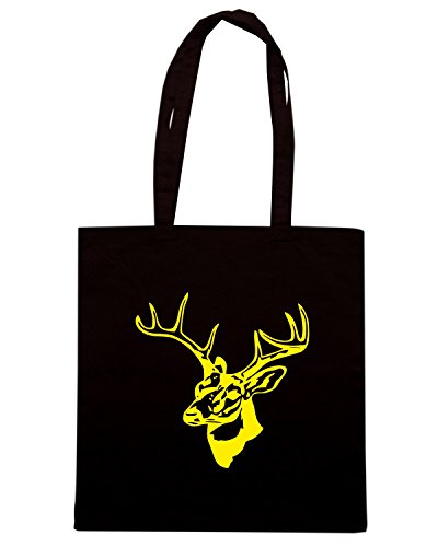 T-Shirtshock - Borsa Shopping FUN0882 buck a 2 Nero