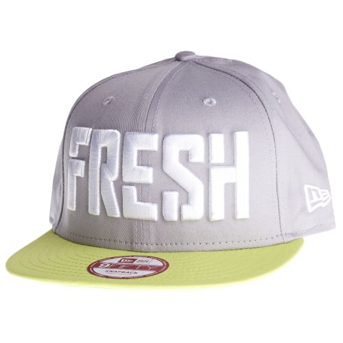 NEW ERA CAPS SLOGAN PACK FRESH GREY GREEN WHITE M/L