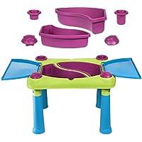 Preisvergleich für Keter Fun Table Aufklappbarer Kindertisch Spieltisch 79 x 56 x 50 cm