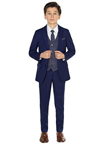 Paisley of London Jungen Anzug Blau blau Gr. 3 Jahre, blau