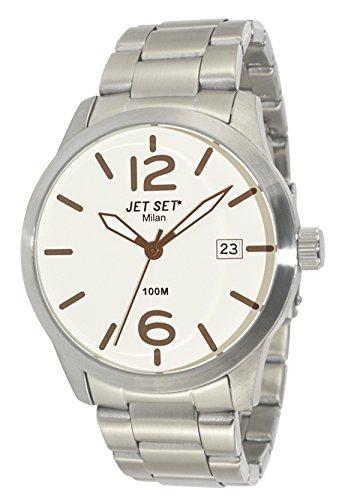 Jet Set J62803-062 Milan  - Wristwatch men's, Stainless Steel, Band Colour: Silver