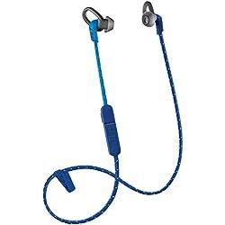Plantronics Back Beat Fit 305 Azul Intraaural Dentro de oído, Banda para cuello auricular - Auriculares (Intraaural, Dentro de oído, Banda para cuello, 50 - 20000 Hz, 105 dB, 3%, 1,3 cm)