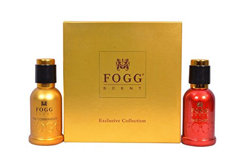 Fogg Scent Gift Set, 50ml (Chief and Commander)