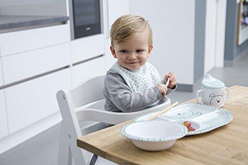Lässig Kindergeschirr mit Silikonboden - 8