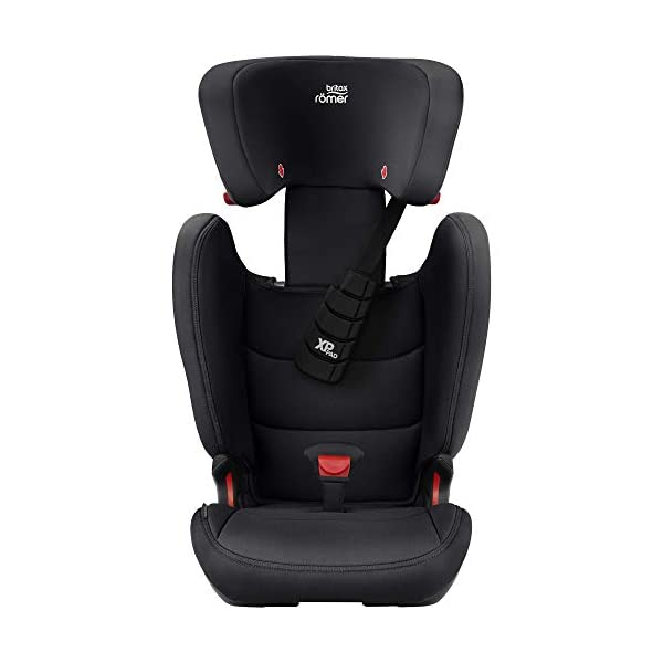 Britax Römer car seat 15-36 kg, KIDFIX Z-LINE Isofix Group 2/3, Cosmos Black Britax Römer Made in germany Outstanding security concept - xp-pad and secureguard Ideal inside dimensions and seat - for extra comfort and excellent ergonomics 6