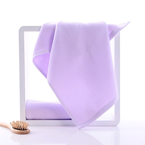Morbido sano multicolore respirabile asciutto Asciugamani ( Colore : Viola ) Viola