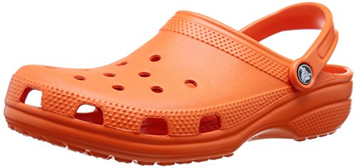 Crocs Unisex-Erwachsene Classic Clogs, Orange (Tangerine), 46/47 EU - Eigene Mode-accessoires