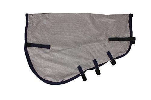 QHP Loses Halsteil für Fliegendecken mit Klettverschluss Einfach anzubringen (XS)