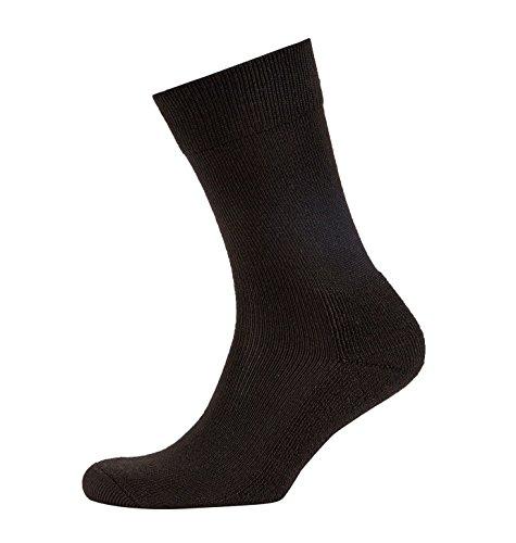 Sealskinz Herren Socken, Thermo-Innenfutter, Schwarz, Größe L -