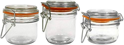 Mini Crock (Anchor Hocking rund Glas Vorratsdose Set Mini Set of 3)
