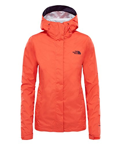 "The North Face Damen Wanderjacke ""Venture 2 Jacket"" hochrot (499) M"