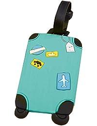 Etiquetas de identificación para equipaje de vacaciones hechas de plástico, de Zhuotop, 1