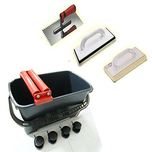Waschset Cleany 24L Waschset Waschbox Fugbox SET D Wascheimer Waschbox Fugbox Fliesen einwaschen