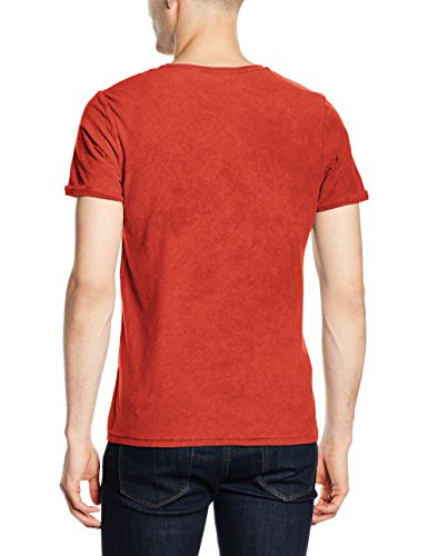 JACK & JONES Herren T-Shirt John Rot - Red (Bossa Nova)