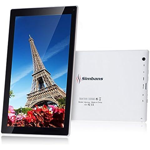 Simbans VALUMAX 10 pulgadas Tablet PC Bundle - ALL-IN-ONE - Quad Core, 16GB, Android 5.1 Lollipop 2016