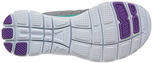Chaussures De Course Skechers Flex Appeal Sweet Spot, Gris Femme (ccpr)