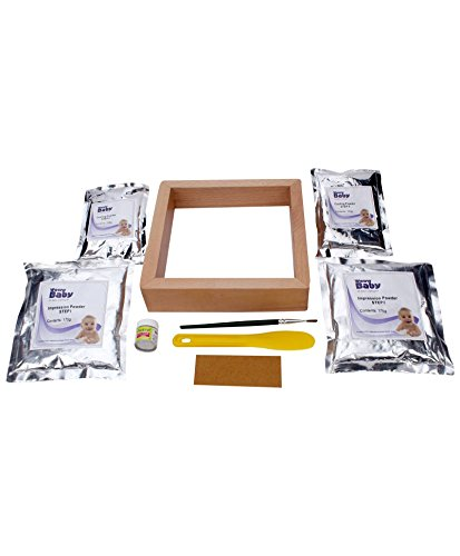 Woww Baby 3D Casting Kit with frame and silver Color cast