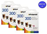Polaroid PIF-300 Instant Film for 300 Series Cameras (4 Packs, 10 Prints Each)