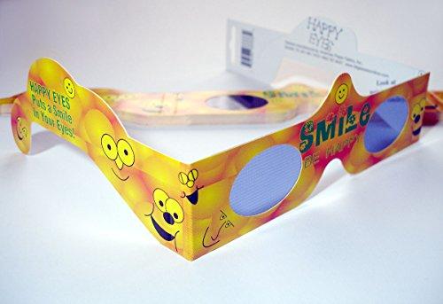 10 Stück HoloSpex 3D Brille Smile (Smiley Brille) -