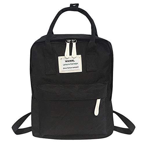 YueLove Rucksack Damen Herren Mädchen Jungen & Kinder Vintage Schulrucksack wasserdichte Schultasche Leinentasche Rucksäcke Sporttaschen Reisetaschen