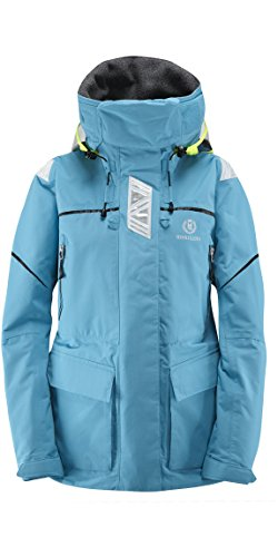 2017 Henri Lloyd Ladies Freedom Offshore Jacket Baltic Blue Y00352 Sizes- - Small (Baltic Blue Bekleidung)
