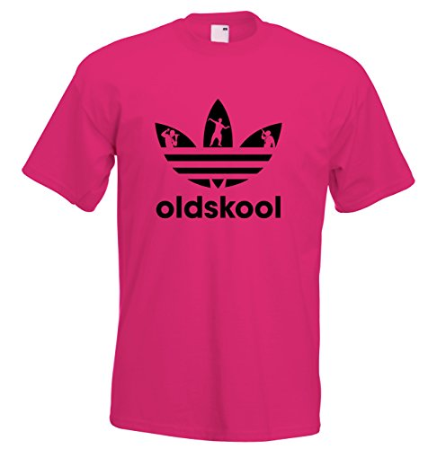Juko Old Skool T Shirt 1337 Acid House Retro