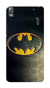 Lenovo K3 Note Black Hard Printed Case Cover by HACHI - Batman Fans design
