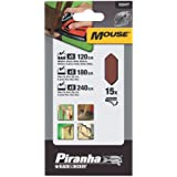 Piranha X32477 Mouse Abrasive Fingers (15) Assorted