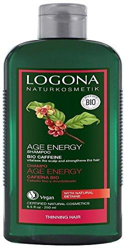 Logona Bio cafeína Edad Champú Energía