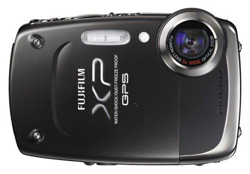 Fujifilm FINEPIX XP30 Outdoor-Digitalkamera (14 Megapixel, 5-fach opt. Zoom, 6,9 cm (2,7 Zoll) Display, bildstabilisiert, GPS, bis 5m wasserdichtschwarz 14.2 Mp, 2.7