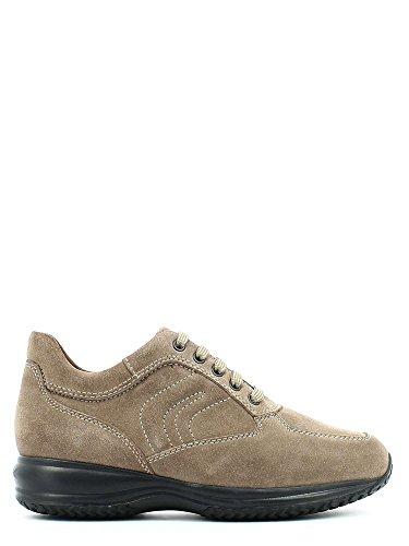 Geox u4356h 00022 scarpa lacci uomo tortora 45