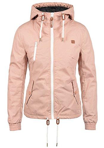 DESIRES Tilda Damen Übergangsjacke Jacke Mit Kapuze, Größe XL, Farbe Mahog. 1db00ae3a1