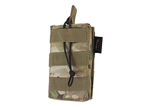 BE-X Offene Magazintasche für CQB, für MOLLE für ein M4/M16 Magazin - multicam (Cqb-magazin)