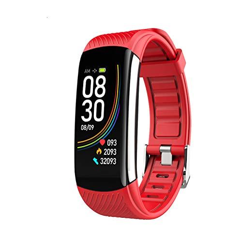HQHOME Fitness Armband Fitness Tracker wasserdichter IP68 Schrittzähler Aktivitäts-Tracker für Herzfrequenzmonitor mit angeschlossenem GPS-Tracker, Schrittzähler, Schlafmonitor,Fitness Uhr