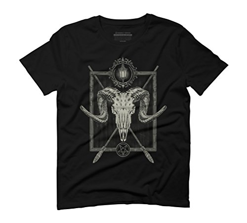 Aries Men's Graphic T-Shirt - Design By Humans Black
