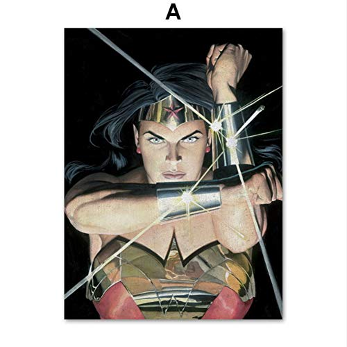 XWArtpic Amerikanischen Film Superheld Superpower Hollywood Cartoon Film Charakter Anime Poster Wandkunst Leinwand Malerei Nordic Poster Und Drucke Wandbilder Kinderzimmer Dekor 60 * 100 cm (Disney Osmanischen)