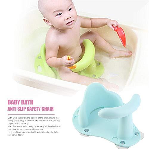 Hete-supply Baby Dusche Sitz Kleinkind Anti Slip Sicherheitsstuhl Praktische Baby Badesitz Baby Badewanne Ring Sitz Kind Kind Kinder Weiche, Ungiftig Für 1-3 Jahre Alt