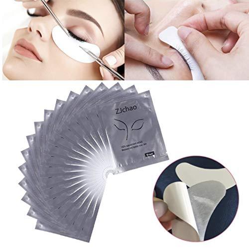 100 Paar Augenpads Eye Pads Profi Augen Gel Patch mit Dynamische Passform für Wimpernverlängerung Eye Extensions Augenwimper Beauty, Fusselfrei - Espresso-geräte