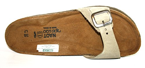 Naot , chaussures compensées femme Vert mousse